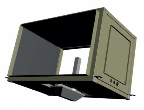 Módulo KVIR-P de LMF Clima, el purificador para equipos que utiliza innovadoras lámparas UV de doble longitud de onda.